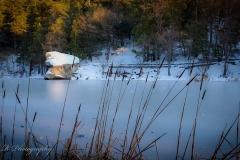 Lake Fulmor Iced Over